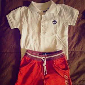 Timberland Baby Outfit